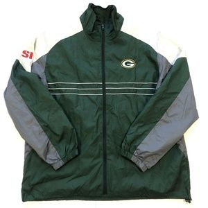 Reebok NFL Green Bay Packers SI windbreaker jacket